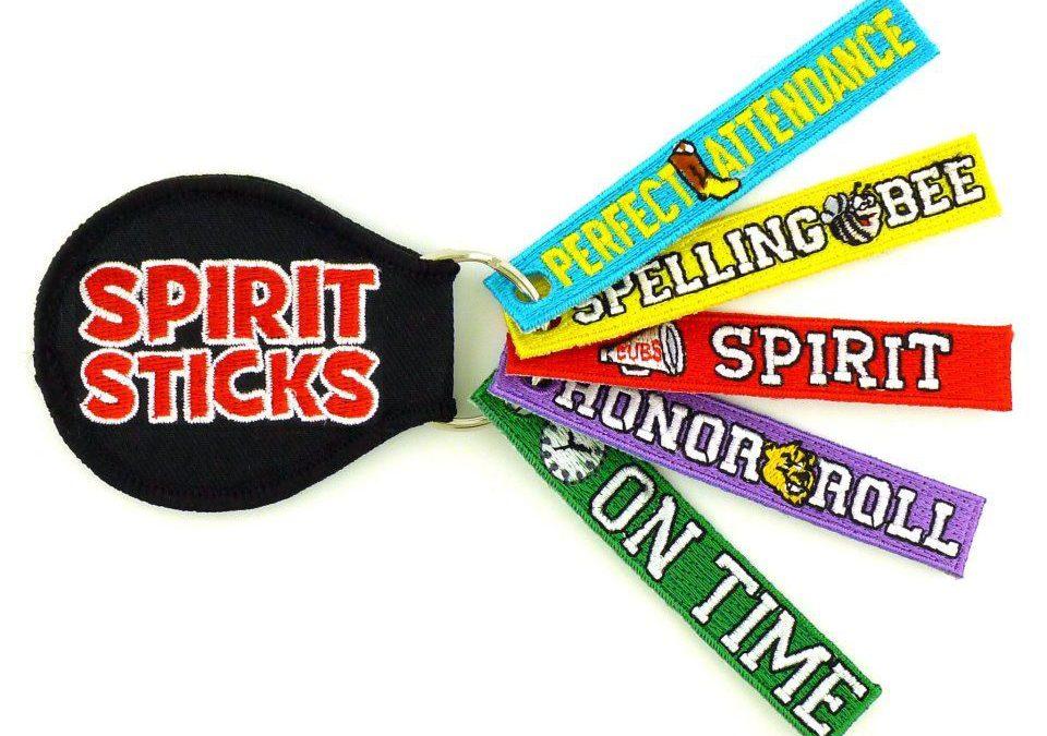 Spirit Sticks on Sale Fridays!